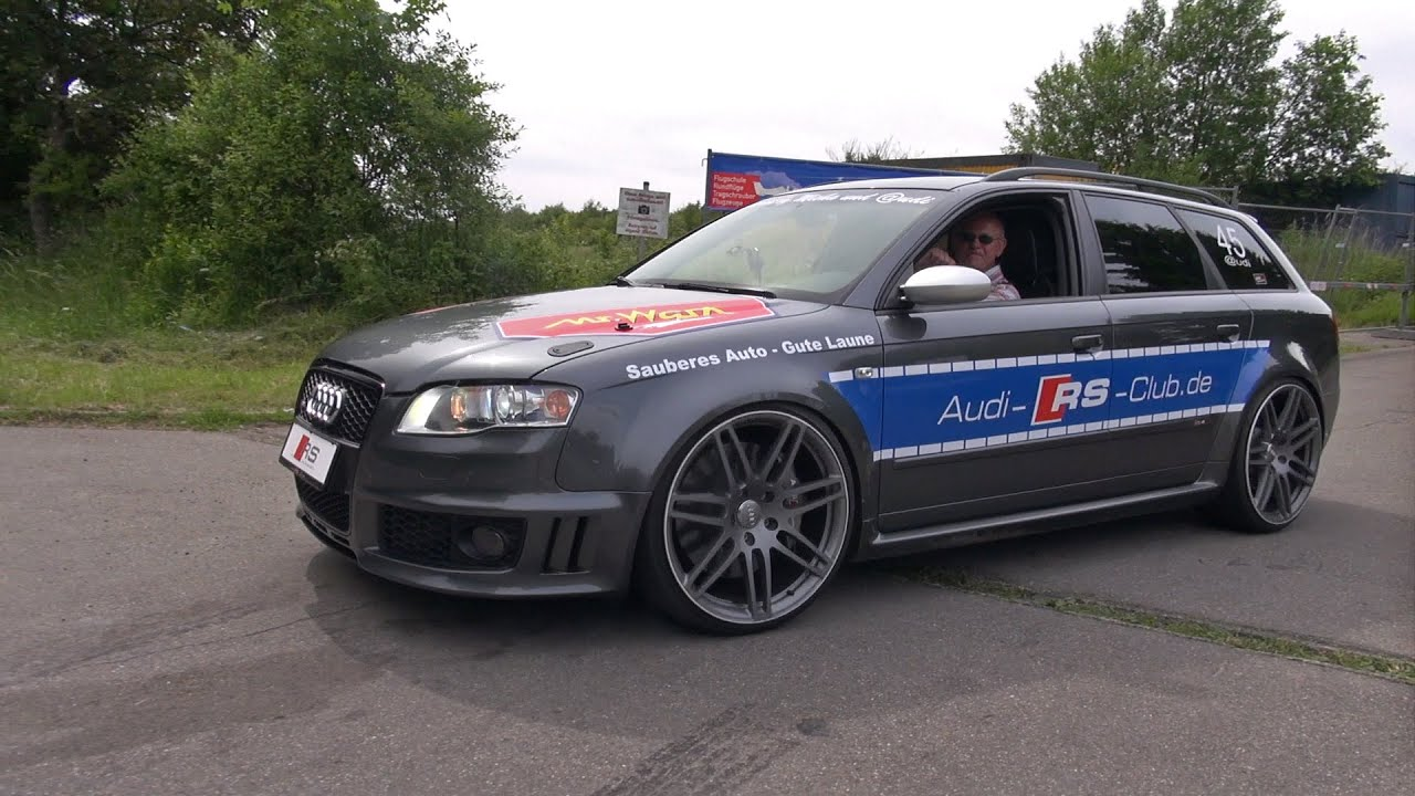 Audi Rs4 Avant B7 W Pes Supercharger 556hp Sound Youtube