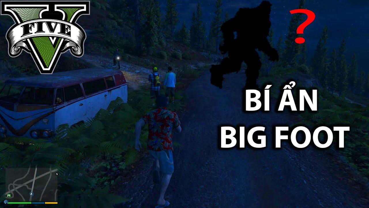 Tôi tìm thấy quái vật BIGFOOT trong GTA 5 | Tất tần tật các thông tin liên quan icon động vật chính xác nhất