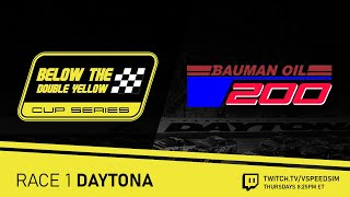 Below The Double Yellow Cup Series / Bauman Oil 250