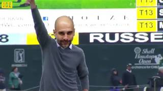 Guardiola wins the premier league on the golf course 🏆