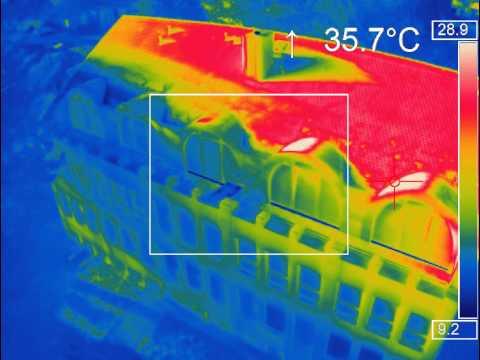 .搭載熱成像的無人機 安防救援大有前途