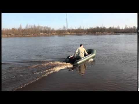Тест-драйв лодки ПВХ Аква 2600 и Аква 2800