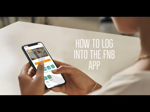 Download How to log into the FNB App