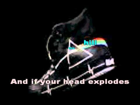 Pink Floyd - Brain damage karaoke.avi