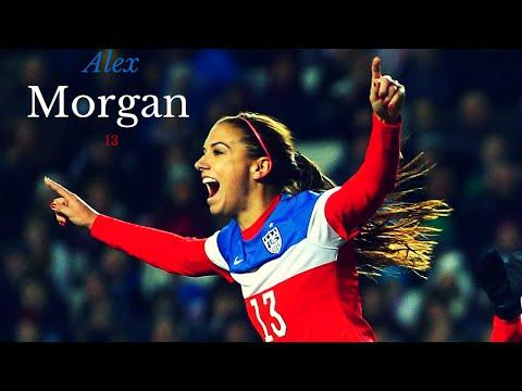 Alex Morgan - Best skills & Goals* HD
