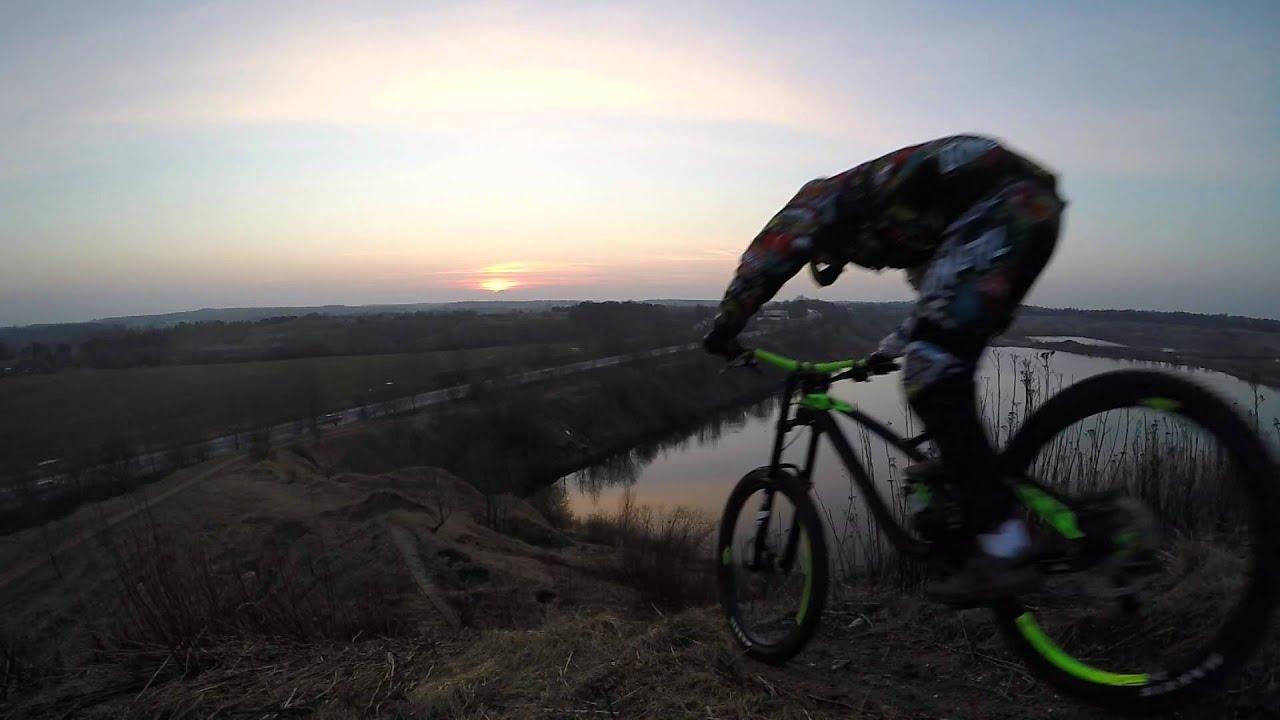 Ns Bikes Fuzz 1 Downhill Mtb Denmark Youtube