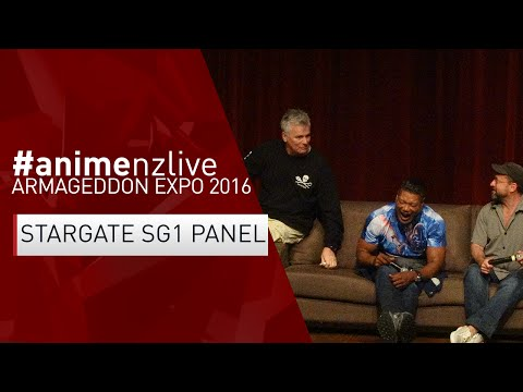 Armageddon Expo 2016: MANUKAU - Saturday : Stargate SG1 Panel [#animenzlive]