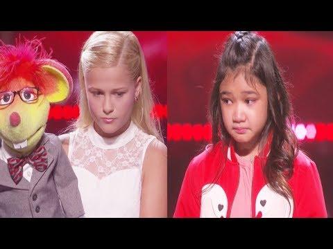 Results Quarter Finals Angelica Hale & Darci Lynne America's Got Talent 2017 - Round 1