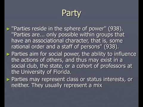 class status party