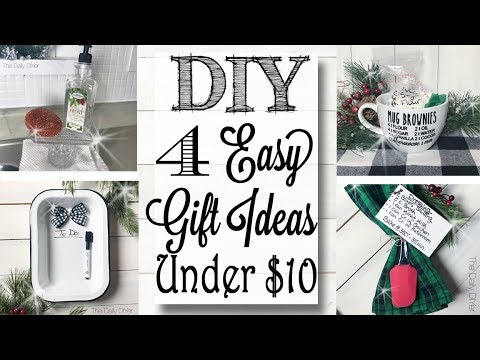 Last Minute DIY Christmas Gift Ideas Under $10!