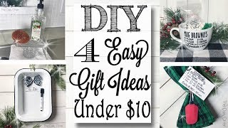 Last Minute DIY Christmas Gift Ideas Under $10!