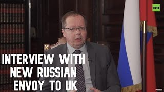 NATO build-up on Russia's borders a threat to Europe's security - New Russian envoy to UK