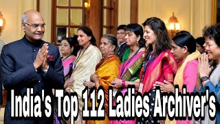 Honoring India's Top 112 ladies : A complete list of all honored women