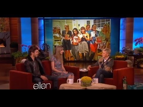 Zac, Taylor and Ellen talk Valentine's Day