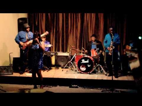 Sandy Bass with The Indigo Jazz Band
