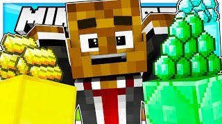 GOLD RUSH THE CRAZIEST MODDED GAMEMODE EVER - Modded Minecraft Minigame (Minecraft 1.12.2)