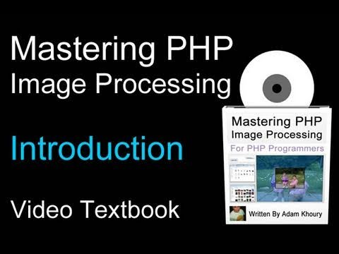 PHP GD Image Processing Video Textbook Programming Tutorials