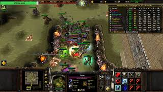 Warcraft 3: Orc Gladiators! Trying out Wizard Staff