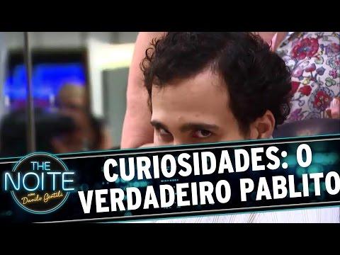 The Noite (15/12/15) - Curiosidades: Pablito é O Léo Lins