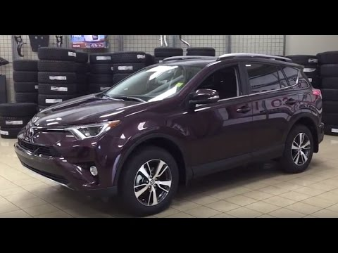 The difference between the 2017 vs 2016 Rav4 Standard
