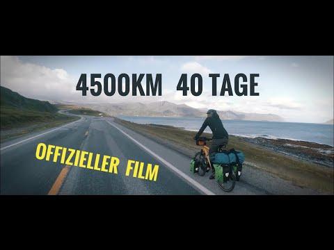 71° N   Per Rad von Hamburg zum Nordkap  Fahrradtour   4000KM in 29 Tagen
