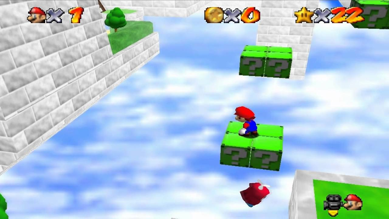 Super Mario 64 Star Road Zip Codes