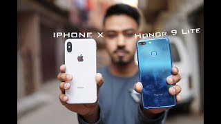 Honor 9 Lite vs Apple IPhone X Camera comparison