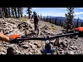 Lake Tahoe delivers an ALL-TIME surprise | Mountain Biking the Tahoe Rim Trail
