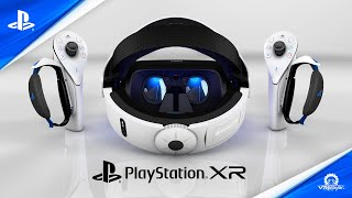 PSVR 2 - PlayStation XR Sony trailer PS5 Concept by VR4Player