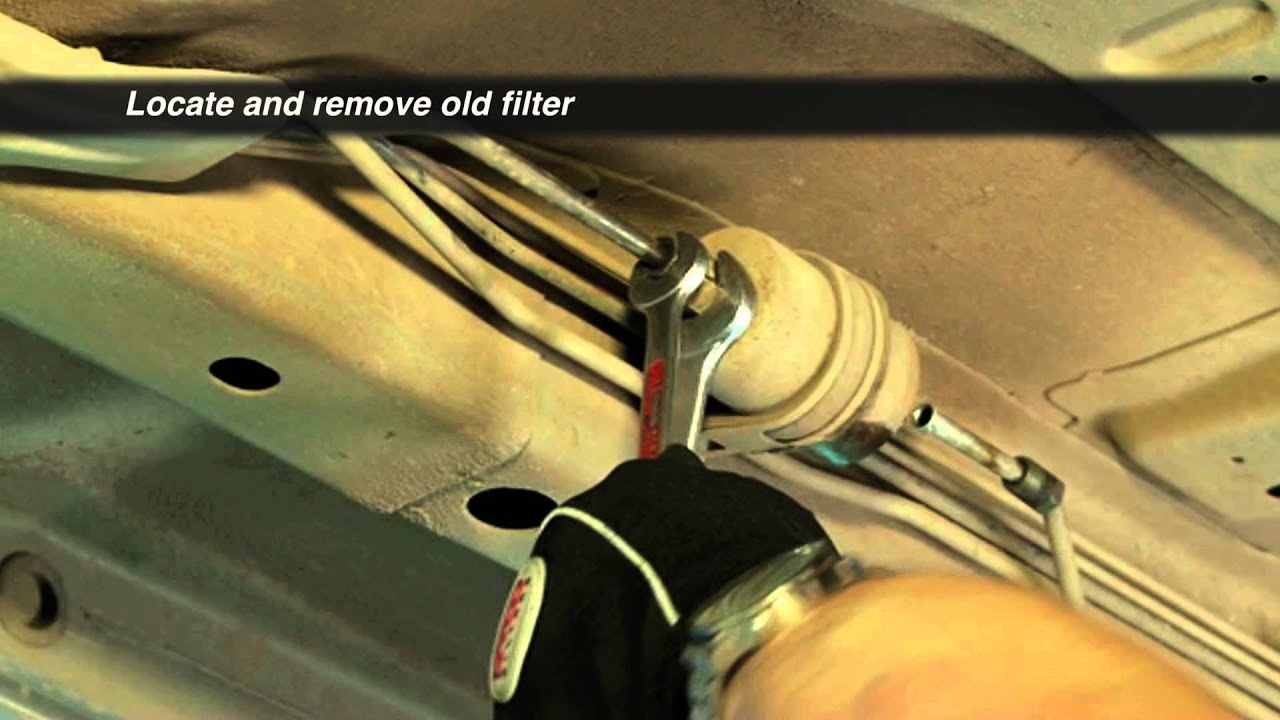 how to changing a fuel filter supercheap auto [ 1280 x 720 Pixel ]