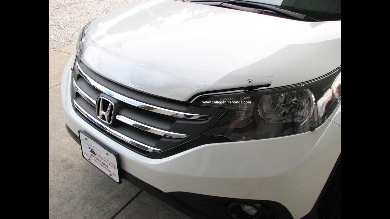 Episode #257 - 2012+ Honda CR-V Imported Air Deflector Installation - YouTube
