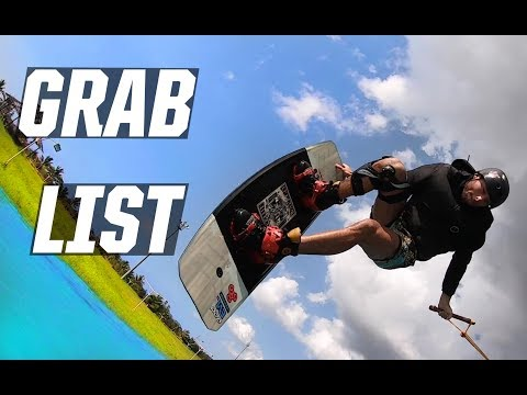 WAKEBOARDING GRABS - DIRECTORY - LIST