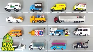 Learning Street Vehicles Names and Sounds for kids with toy Cars and Trucks