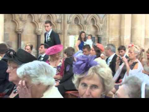 Andrew & Zoe's Wedding Day - Beverley Minster Church