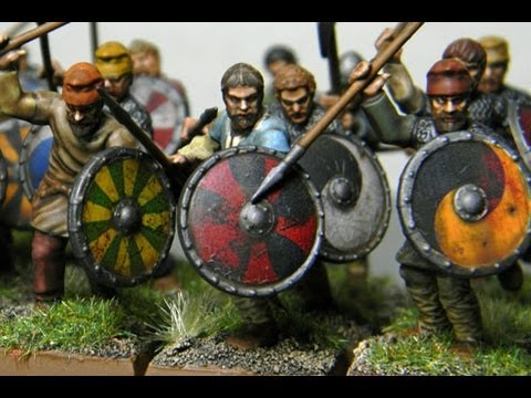 Painting Wargames Factory Saga Saxons
