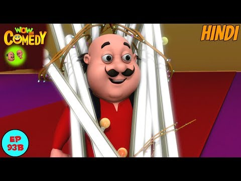 The Electric Man - Motu Patlu in Hindi - 3D Animated cartoon series for kids thumbnail