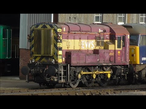 Trains @ Eastleigh & Shawford Stations - 3rd October 2017
