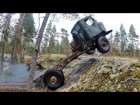 Неубиваемый ГАЗ-66. Мощь СССР!