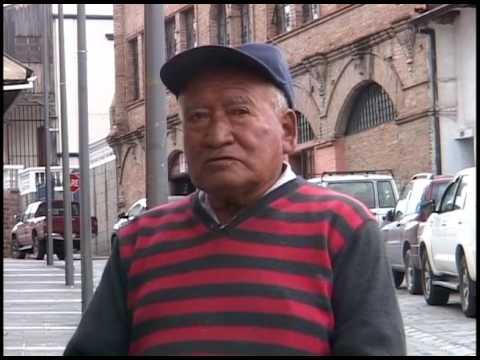 Ángel Quinde morador de calle Rafael María Arízaga