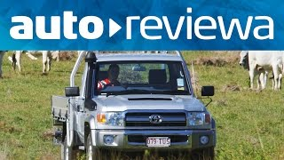2015, 2016 Toyota LandCruiser 70 Video Review - Australia