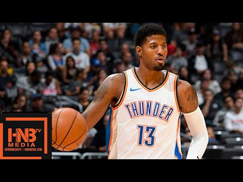 Oklahoma City Thunder vs LA Clippers Full Game Highlights | 10.19.2018, NBA Season