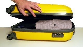 How to Pack a Suitcase Efficiently - Top Travel &amp Life Hacks