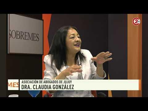 Sobremesa 11-12-19| Dra. Claudia González - Asociación de Abogados de Jujuy