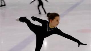 Наша тренировка по фигурному катанию Мой ледниковый период дети Фигурное катание дети спорт