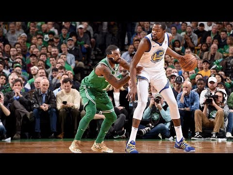 Kyrie Irving Hits GAME WINNER in First Game vs Warriors without LeBron! Celtics vs Warriors!