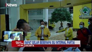 Golkar Gelar Rapat Internal, Cari Pengganti Aziz Syamsudin Jadi Wakil Ketua DPR #iNewsMalam 28/09
