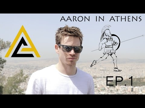 Aaron in Athens | President Cup 2017  -  EP.1 TRAVEL DAY