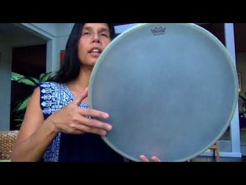 Frame Drum circle Song  #4 challenge with Miranda Rondeau