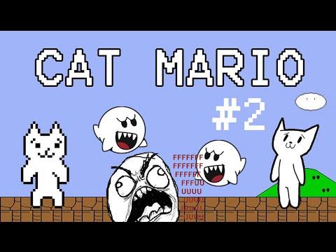 Cat Mario | Игра, уничтожающая нервную систему #2
