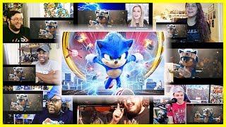 Sonic the Hedgehog Trailer 2 Reactions Mashup